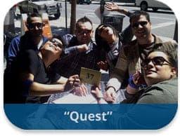 Quest Scavenger Hunt Team Building