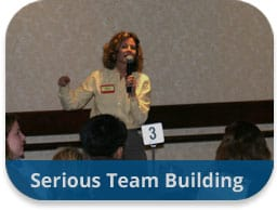 Serious Team Building Events and Activities