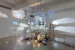 Sarah Sze Tanya Bonakdar Gallery