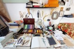 Guglielmo Castelli's Studio View