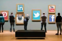 social media exhibition