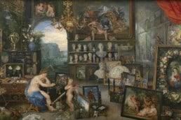 Jan Brueghel the Elder and Peter Paul Rubens, The Five Senses (Series), Sight, 1617
