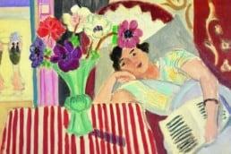 Henri Matisse, Femme et anémones, 1920