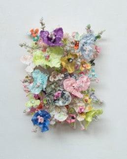 Stefan Gross, Flower Bonanza - Pastel Metallic, 2020
