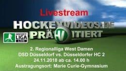 Hockeyvideos.de – DSD vs. DHC – 24.11.2018 14:00 h