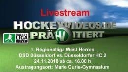 Hockeyvideos.de – DSD vs. DHC – 24.11.2018 16:00 h