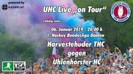 UHC Live – HTHC vs. UHC – 06.01.2019 20:00 h