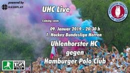 UHC Live – UHC vs. HPC – 09.01.2019 20:30 h
