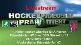 Hockeyvideos.de – DHC 3 vs. DSD 2 – 01.12.2019 18:00 h