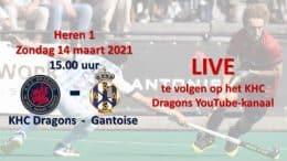 KHC Dragons – KHCD vs. ARAG – 14.03.2021 15:00 h
