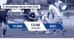 TC 1899 e.V. Blau-Weiss – TCBW vs. BSC – 25.09.2021 13:00 h