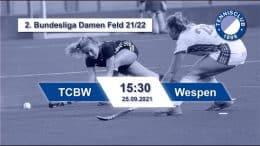 TC 1899 e.V. Blau-Weiss – TCBW vs. Wespen – 25.09.2021 15:30 h