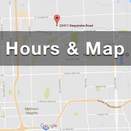 Map to Double Action Indoor Shooting Center & Gun Shop