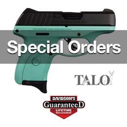Special Order your next firearm online at Double Action Indoor Shooting Center & Gun Shop