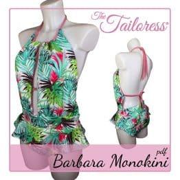 The Tailoress PDF Sewing Patterns - Bárbara Monokini PDF Sewing Pattern