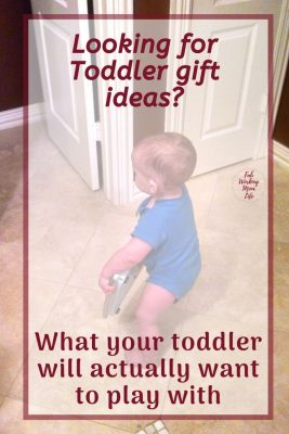 what your toddler actually wants to play with