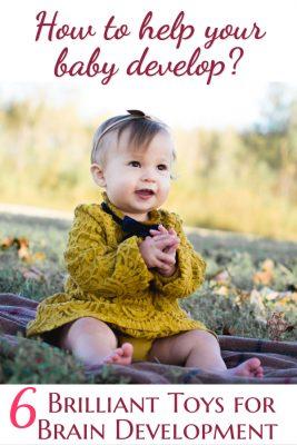 Brilliant Toys For Brain Development | Fab Working Mom Life #parenting #baby #motordevelopment #milestones #toddlers