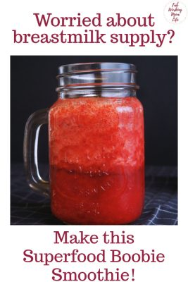 power foods smoothie - Superfood Boobie Smoothie for Lactation