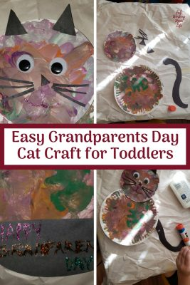 Easy Grandparents Day Cat Craft for Toddlers   Fab Working Mom Life