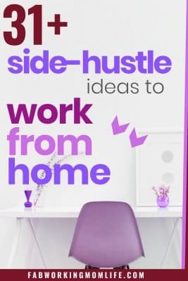 31 side hustle ideas to work from home