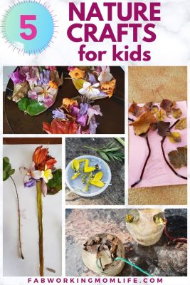 5 nature crafts for kids