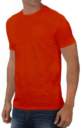 Round Neck Promotional Tshirt - Red