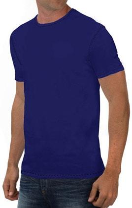 Round Neck Promotional Tshirt - Royal Blue