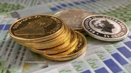 Goldmünzen, Silbermünzen (Foto: Goldreporter)