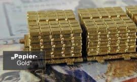 Gold, Gold-ETF, Papiergold (Foto: Goldreporter)