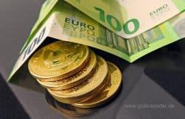 Goldmünzen, Krügerrand (Foto: Goldreporter)
