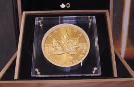 Gold, Goldmünze, Maple Leaf, 1 Kilo
