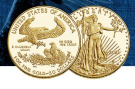 Goldmünzen, American Eagle