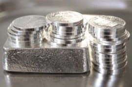 Silber-ETF, Silber, Silbermünze