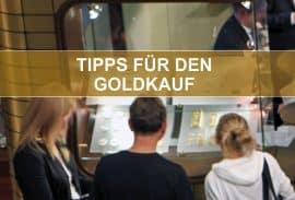 Gold kaufen, Tipps, Infos (Foto: Goldreporter)