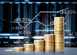 Goldmünzen, Kurse, Aktien