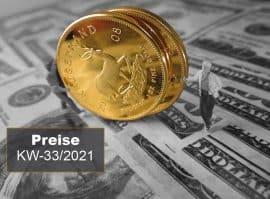 Goldmünzen, Preise, Aufgeld (Foto: Goldreporter)