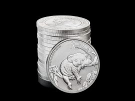 Koala, Silbermünzen 2022, Silber