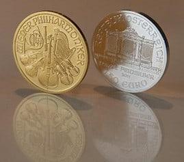 Gold, Silber, Preise, Münzen (Foto: Goldreporter)