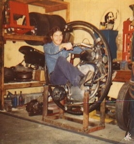 early mclean monocycle