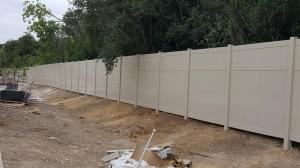 8ft Tan Privacy Fence