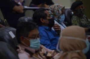 Lawatan kerja Pusat Pemberian Vaksin PPV Kompleks Masyarakat Penyayang Daerah Timur Laut Pulau Pinang 9