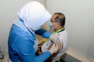 YB Timbalan Menteri MOSTI melengkapkan suntikan dos kedua vaksin COVID 19 2