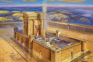 second jerusalem temple painting