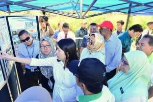 Menteri MESTECC Turun Padang Memeriksa Infrastruktur Pencegahan Pembakaran Terbuka di Johan Setia Klang 5