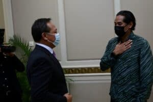 Lawatan kerja ke Pusat Pemberian Vaksin PPV Hospital Sultanah Aminah Johor Bahru 5