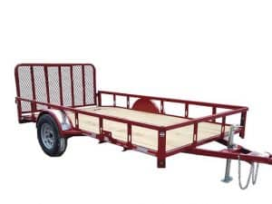 7x12 utility trailer for rent