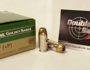 Remington 45 ACP +P 185gr JHP Golden Saber (GS45APC)