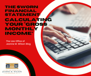 """Calculating your """"gross monthly income"""""""