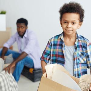 relocating children after divorce