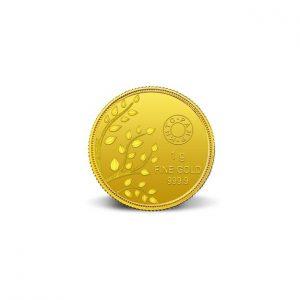 MMTC-PAMP Banyan Tree 24k (999.9) 1 gm Gold Coin
